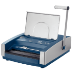 Leitz Wirebind 500 Electric/manual binding machines 270sheets Blue,Silver