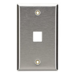 Black Box WP370 wall plate/switch cover Stainless steel