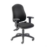 CAPPELA FF INTRO POSTURE CHR WITH ARMS CHARCOAL