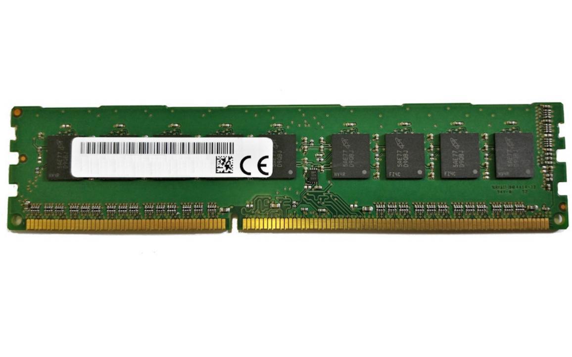 Micron MT18KSF1G72AZ-1G6P1 módulo de memoria 8 GB 1 x 8 GB DDR3L 1600 MHz ECC