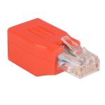 StarTech.com Adaptador de Cable de Red Ethernet Cat6 Directo Recto Straight a Cruzado Crossover UTP Patch RJ45