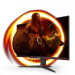 "AOC G2 24G2AE/BK computer monitor 60.5 cm (23.8"") 1920 x 1080 pixels Full HD LED Black, Red"