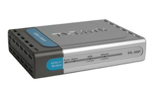 D-Link DSL-320B ADSL Ethernet Modem 24000Kbit/s modem