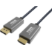 Vision TC 1MDPHDMI/HQ adaptador de cable de vídeo 1 m DisplayPort HDMI tipo A (Estándar) Negro