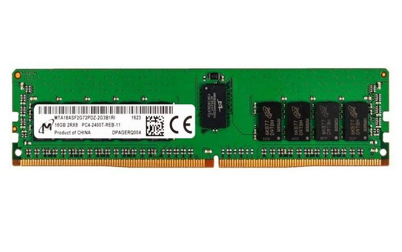 Micron MTA18ASF2G72PDZ-2G6J1 módulo de memoria 16 GB 1 x 16 GB DDR4 2666 MHz ECC