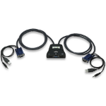 Manhattan 151245 KVM switch Black