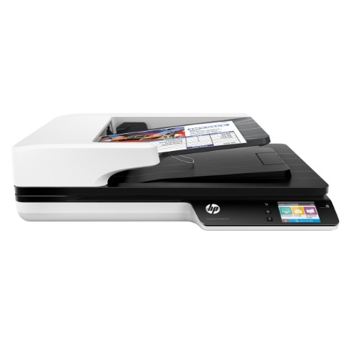 HP Scanjet Pro 4500 fn1 1200 x 1200 DPI Flatbed & ADF scanner Grey A4