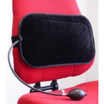 Hypertec Portable Inflatable Lumbar Support - Ideal in situations where a good chair is not an option: in mee