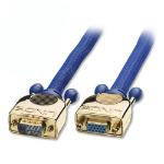 Lindy 37728 VGA cable 0.5 m VGA (D-Sub) Blue
