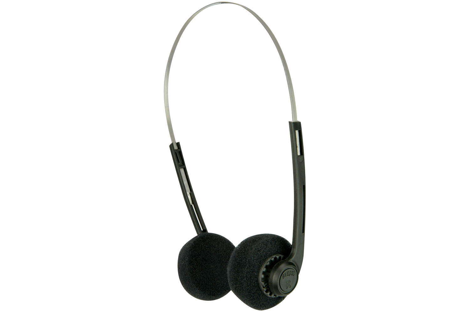 AV Link 100.035UK headphone Circumaural Head-band Black