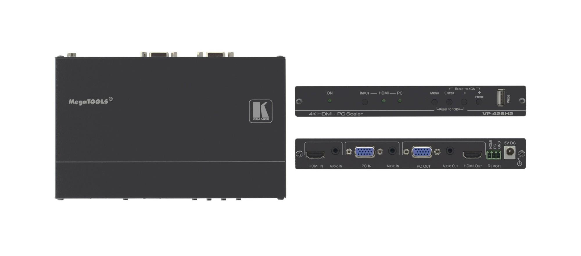 Kramer Electronics VP-426H2 escalador de vídeo