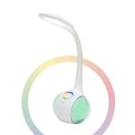 mBeat ® actiVIVA LED Desk Lamp with RGB Color Changing Base - Adjustable RGB Light setting/ Daylight Night