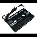 "Cables Direct CASSBK audio cassette adapter 3.5 mm (1/8"") Black"