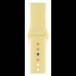 Apple MWUU2ZM/A smartwatch accessory Band Yellow Fluoroelastomer
