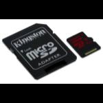 Kingston Technology microSDXC UHS-I U3 90R/80W 128GB 128GB MicroSDXC UHS-I Class 10 memoria flash