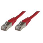 Microconnect 0.25m Cat6 RJ-45 networking cable F/UTP (FTP) Red