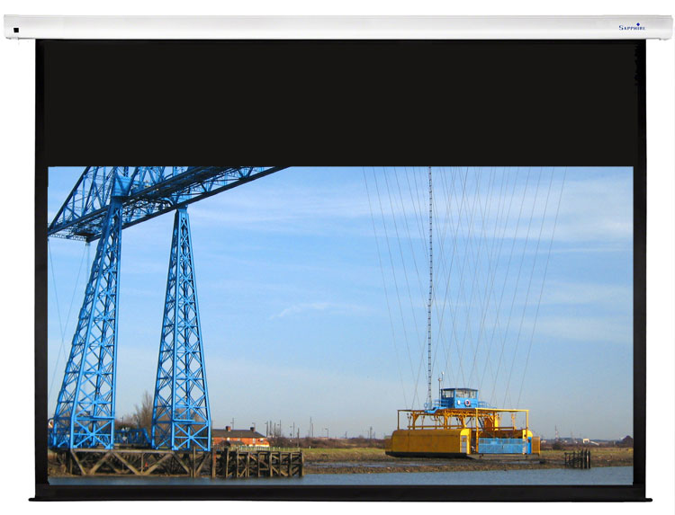 Sapphire Electric Screen with Trigger 270cm x 169cm 16:10