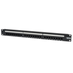 Tripp Lite 24-Port 1U Rack-Mount Cat6/Cat5 110 Patch Panel, 568B, RJ45 Ethernet
