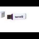 Wortmann AG USBee 32GB USB 2.0 Type-A White USB flash drive