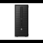 HP EliteDesk PC de torre 800 G1 (ENERGY STAR) DDR3-SDRAM i5-4590 Micro Tower 4th gen Intel® Core™ i5 4 GB 500 GB HDD Windows 7 Professional Black