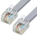 Cisco ADSL Crossover 3m White networking cable