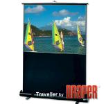 "Draper Traveller Portable projection screen 73"" 16:9"