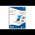 """Epson Bright White Paper 8.5"""" x 11"""" 500s Letter (215.9×279.4 mm) Color blanco papel para impresora de inyección de tinta"""