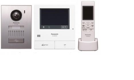 "Panasonic VL-SWD501 video intercom system 12.7 cm (5"") Silver, White"