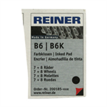 Colop REINER B6/8K REP PAD BLK PACK2