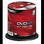 Emtec EKOVPR4710016CB 4.7GB DVD+R 100pc(s) blank DVD
