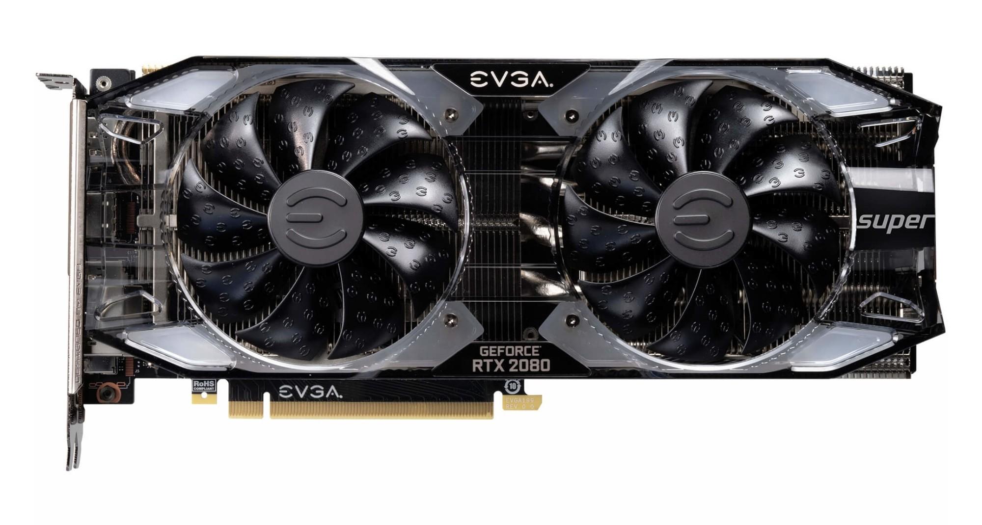 EVGA 08G-P4-3182-KR graphics card GeForce RTX 2080 SUPER 8 GB GDDR6
