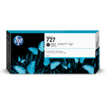 HP F9J79A (727) Ink cartridge bright black, 300ml