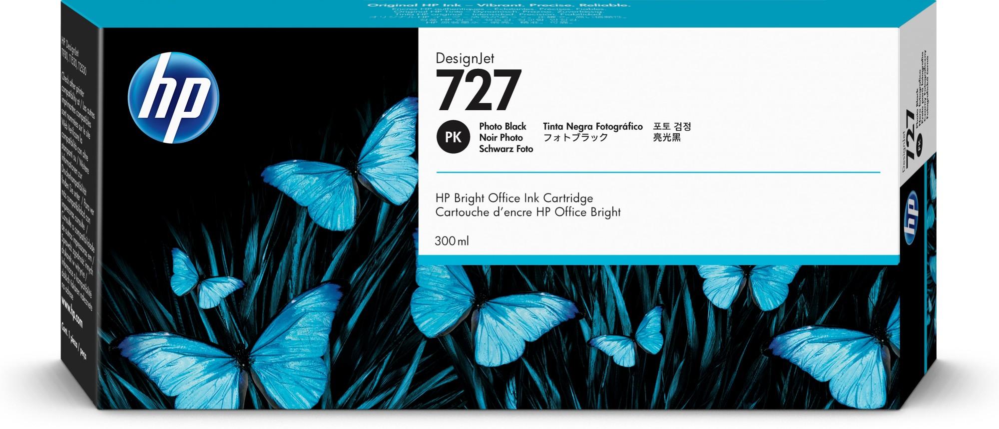 HP 727 Original Foto negro