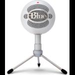 Blue Microphones Snowball iCE Micrófono de superficie para mesa Blanco