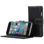 "TheSnugg B01IRCSNBU 4.7"" Wallet case Black mobile phone case"
