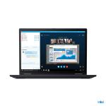 """Lenovo ThinkPad X13 Yoga LPDDR4x-SDRAM Hybrid (2-in-1) 33.8 cm (13.3"""") 1920 x 1200 pixels Touchscreen 11th gen Intel® Core™ i7 16 GB 512 GB SSD Wi-Fi 6 (802.11ax) Windows 10 Pro Black"""