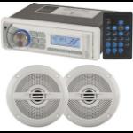 Generic Marine AM/FM Radio and Speaker Package - 5 Inch