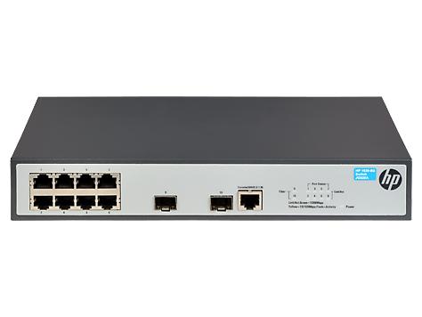 Hewlett Packard Enterprise 1920-8G Managed L3 Gigabit Ethernet (10/100/1000) Grey