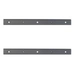 Newstar VESA Conversion Plate from VESA 100x100mm to 100x200mm - Silver