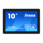 "iiyama ProLite TW1023ASC-B1P touch screen monitor 25.6 cm (10.1"") 1280 x 800 pixels Black Multi-touch Multi-user"