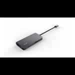 LMP 15954 Schnittstellenhub USB 3.2 Gen 2 (3.1 Gen 2) Type-C 5000 Mbit/s Grau