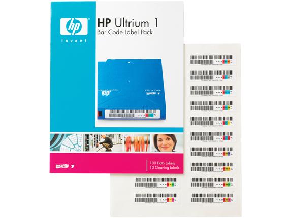 Hewlett Packard Enterprise Q2001A barcode label