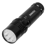 Duracell Tough CMP-8C Hand flashlight Black LED