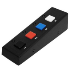 ADDER RC4 Wired press buttons Black remote control