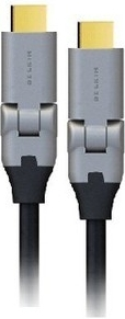 Belkin AV10087QP2M HDMI cable 2 m HDMI Type A (Standard) Black,Grey