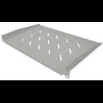 "Intellinet 19"" Cantilever Shelf, 1U, Shelf Depth 350mm, Vented, Grey"