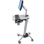 Ergotron Neo-Flex LCD Cart computer desk Grey