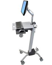 Ergotron Neo-Flex LCD Cart computer desk Grey
