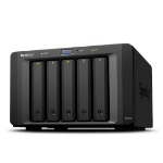 Synology DX513 20000GB Tower Black disk array