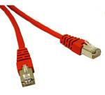 C2G 1m Cat5e Patch Cable cable de red Rojo